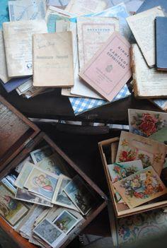 Antigos Santinhos Religiosos marcador de página