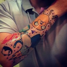 Simplemente genial! Tattoo adventure time                              …