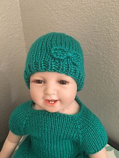 Easiest, fastest newborn beanie you will ever knit! I was tired of spending over an hour knitting baby beans so I was inspired to create one that was still cute/soft and took 30 minutes or less to finish.