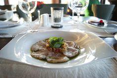 Rico y delicioso Tiradito de Callo.