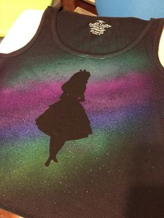 Airbrush Disney t shirts - Katie Ringo