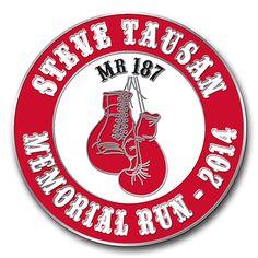 Steve Tausan Memorial Run Boxing Gloves