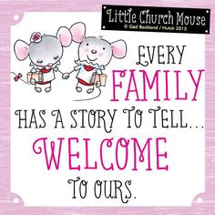 Welcome to the little church mouse family- we are so blessed to have you here! ☺️