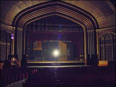 Ghost Light on Theatre Stage