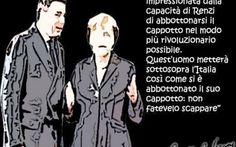 """Un ciompo, di passaggio, al Renzi: """"Ma tagliatevi le palle!"""". #governo #renzi #merkel"""