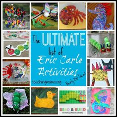 The Ultimate List of Eric Carle Activities (nearly 100 ideas!)