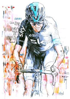 Chris Froome Stage 11 Vuelta a Espana by Horst Brozy