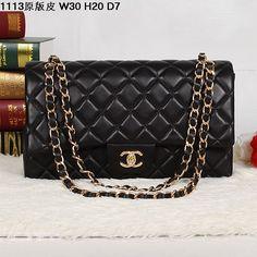 Replica Chanel 1:1 Quality Black, Gold Hardware Original genuine leather Black, Gold Hardware Famous Brand Handbags