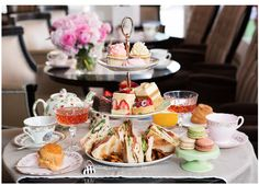 Elegant Tea Party perfect for a Dolly get together