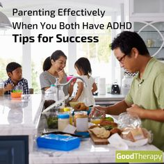 Parenting Effectively When You Both Have ADHD: Tips for Success