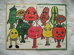 Penelope Strawberry and Roger Radish. Loved The garden gang. Read them to my child even now in 2013 !