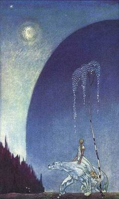Illustration by Kay Nielsen from East of the Sun, West of the Moon, 1914