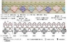 10. Crochet edging & braid / 코바늘 엣징 도안