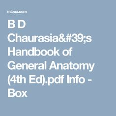 Downlaod free pdf clinically oriented anatomy moore all medical b d chaurasias handbook of general anatomy 4th edpdf info box fandeluxe Images