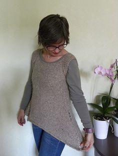 Ravelry: Rosa's Sleeveless Cardi -Jumper pattern by Emma Fassio