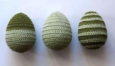 Obháčkovaná vajíčka.