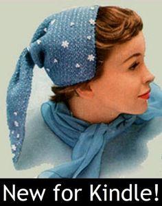 SNOWFLAKE BONNET – A Vintage Hat Crochet Pattern – Kindle Ebook Download (digital book, downloadable, crocheted, crocheting, yarn, crafts, winter, cap, snow, women, girls, gift idea) « Library User Group