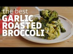 Garlic Roasted Broccoli (I Could Eat This Everyday)   Paleo Grubs