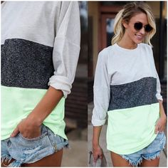 **** Stitch Fix 2017 Summer inspiration! Love the color block trend right now. Could live a shirt like this one! Get styles just like these from Stitch Fix today! Simply click the picture to get started, fill out your style profile and request items just like these. Who doesn't want their own personal stylist to take the work out of shopping? It's like Christmas every month! Try it today!! #sponsored #StitchFix