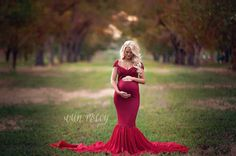 Blake Fitted Maternity Gown with Long Skirt and cap sleeves,Fitted Maternity Dress, Shower Dress, Bridal Gown