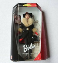 Winter In New York Barbie Collector Doll by MATTEL/HAMMOND. $39.00. Barbie. Winter In New York Barbie Collector Doll