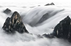When people ask me what Chinese mountains look likeI tell them like a Chinese painting