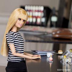 Decided to treat myself to a manicure as well, merci mon ami @davidmallett!  #pfw #barbie #barbiestyle