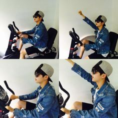 "BTS Tweet - Jin (selca ) 150706 여행가자 -- [TRANS] ""Let's go on a vacation"" -- cr: ARMYBASESUBS ‏@BTS_ABS"