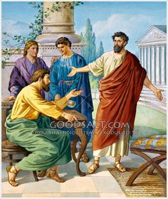 Paul and Barnabas disagree Acts 15:36-41
