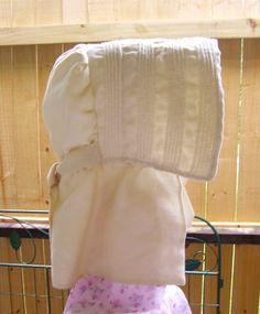 Rebekah's (Civil War Era) Sun Bonnet for Teens & Ladies-Rachels' Seamstress Services Rebekah Civil War Era Sun Bonnet, Romantic, Prairie, Modest, Quaker Plain People