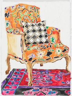 Anna's Chair- Kate Lewis