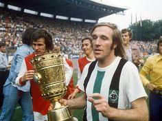23. Juni 1973, Rheinstadion Düsseldorf -  Borussia Mönchengladbach : 1. FC Köln 2:1 n.V.
