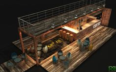 container bars - Google Search
