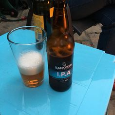 IPA from Backyard Brewhouse, another beer from my #Ironbridge trip