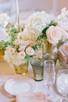 Romantic tablescape.
