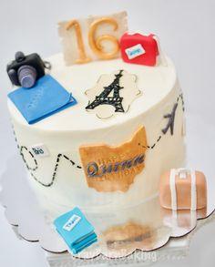 Sweet 16 Travel Cake
