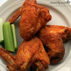 Amazing Chicken Wing Recipe from @savedbyloves