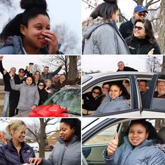 Another courageous single mom who no longer has to rely on public transportation. Please meet Johnettaa Bethlehem House Omaha graduate. She is attending college full time while raising her adorable son. We love seeing these strong single mothers making it happen regardless of their challenging circumstances! More incredible pictures by Monica Sempek Photography! Inter-Tech Collision Centers and Safelite AutoGlass thank you for your amazing restoration job on this vehicle. Welcome to the C4H…