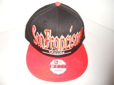 San Francisco Giants MLB 9FIFTY Snap Back Black & Orange New Era Hat Cap