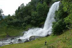 O Leme - Imagens da Noruega - Steinsdalsfossen