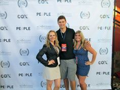 Katherine Norland at the San Diego Film Festival 2012 with Tim Fox and Laura Gill