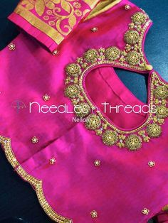 Simple Blouse Designs, Silk Saree Blouse Designs, Saree Blouse Patterns, Blouse Neck Designs, Blouse Styles, Blouse Desings, Baby Boy Dress, Long Gown Dress, Embroidery Neck Designs