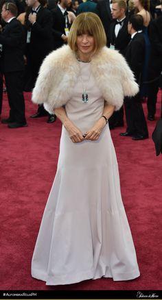 Anna Wintour - - El Palacio de Hierro - #AlfombraRojaPH #Oscars2015