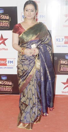 819f67d17799b Divya Dutta at the Big Star Entertainment Awards 2014.  Bollywood  Fashion   Style  Beauty