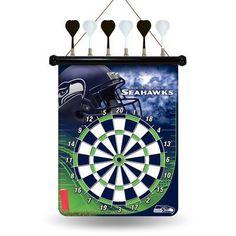 Rico NFL Magnetic Dartboard Set Team: Seattle Seahawks