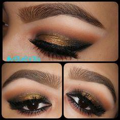 #smokey #gold #makeup Follow Velvet702 on Ig for more Makeup #makeup #beauty #GlamExpress @glam.express #makeupaddict #motd #AnastasiaBeverlyHill #eyeliner #eyes #ilovemakeup #instamakeup #lashes #lips #lipstick #makeuplover #selfie  #makeup #beauty #makeupjunkie #eyeliner #tagsforlikes #eyes #lashes #makeuplover #makeupjunkie #mascara #maquillaje #smink #bilden #maquilage #eyebrows #4theloveofmakeup #undiscovered_muas #makeupartistworldwide
