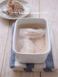 ほっとくだけで、しっとり柔らかジューシー。筋は茹でてから取るのもポイントです。 茹でておけば、サラダなどにすぐ使えて便利^^