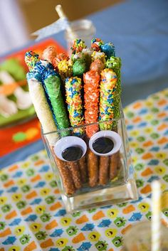 monster+themed+birthday+party | Items used in this party available in Kara's Party Ideas Shop :