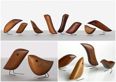 Jacob Hermann birds, 1950s. See more mid-century designs clicking on the image                                                                                                                                                     More