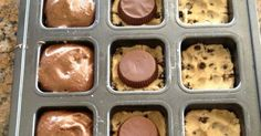I have no idea what to call these, but oh my goodness are they easy and good. This recipe comes to you via Pinterest. I tried to trace it...